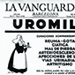 Front page of La Vanguardia from Sunday, 26 January 1936