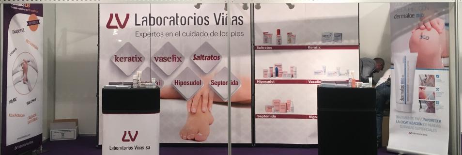 Saltratos DB, patrocinador del 48º Congreso de Podólogos en Salamanca