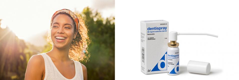 Con Dentispray, alivio instantáneo  para el dolor de muelas, dientes y encías