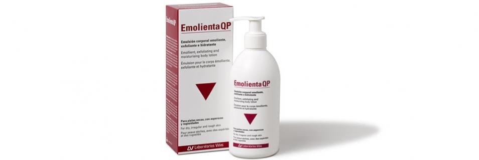Nueva emulsión Emolienta QP, ideal para recuperar la suavidad e hidratación de la piel