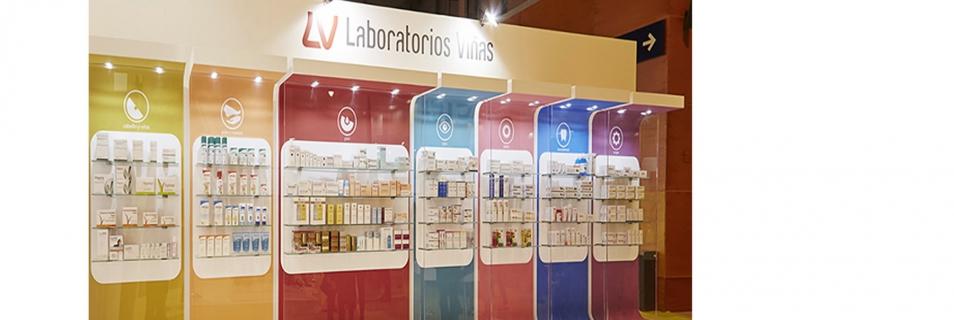 Laboratorios Viñas llena su stand  con nuevas Experiencias en Infarma 2017