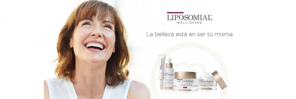 Presentamos Liposomial Well-Aging, la nueva gama de productos especialista en el cuidado de la piel madura de la mujer