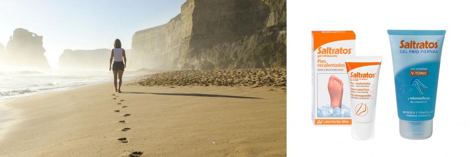 Saltratos Gel Refrescante: alivio y frescor para los pies