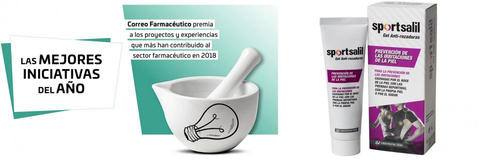 Sportsalil Gel Anti-rozaduras gana el Premio a las Mejores Iniciativas de la Farmacia 2018