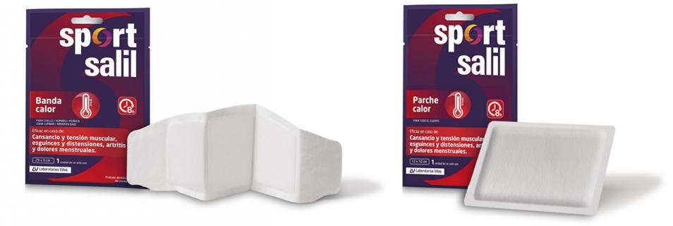 El Efecto Sportsalil aumenta con dos nuevos productos: Sportsalil Banda Calor y Sportsalil Parche Calor