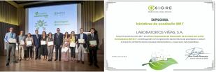 Laboratorios Viñas consigue el Diploma SIGRE 2017