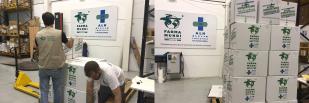 Farmamundi reparte alimentos, leche infantil y mantas a las familias refugiadas de Siria
