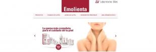 Nueva web de Emolienta, la marca de referencia de hidratación en dermatología