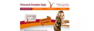 Nueva web de Vitacrecil Complex Forte