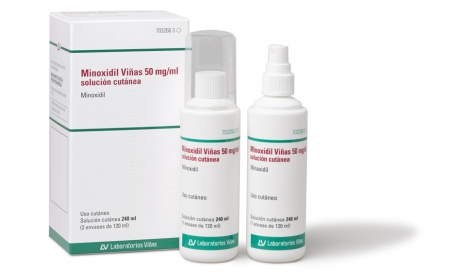 Minoxidil Viñas 50 mg/ml