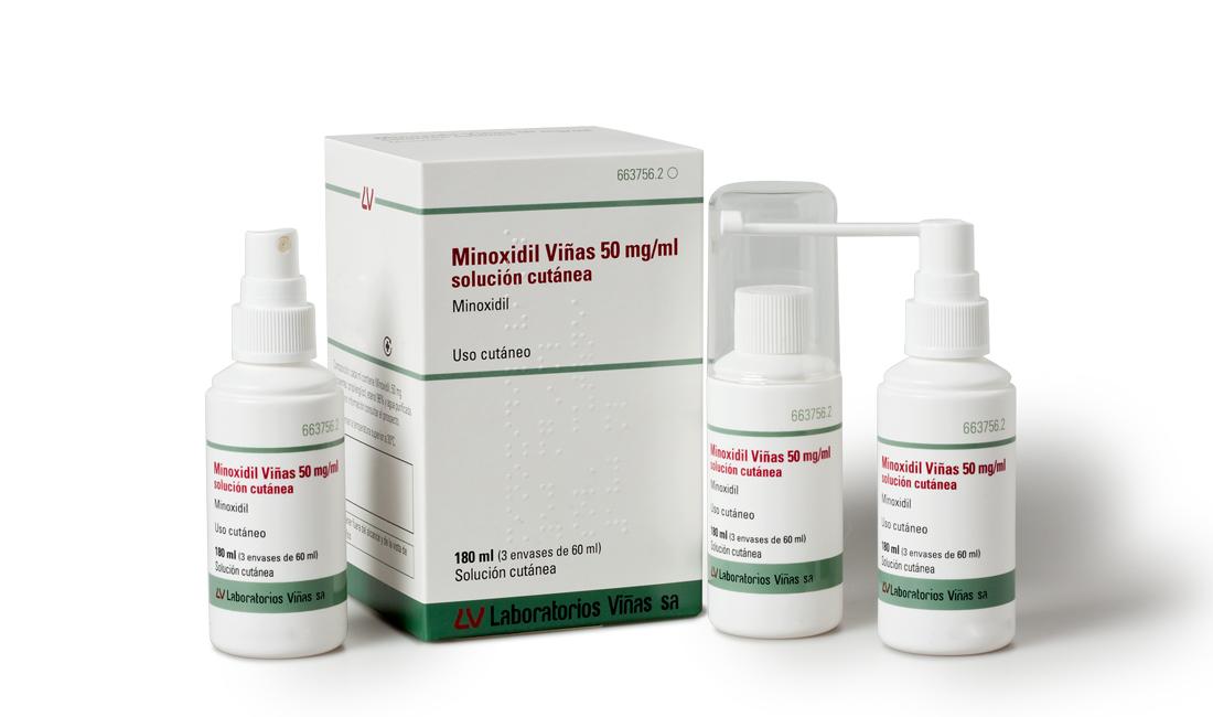 Minoxidil Viñas 50 mg/ml