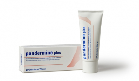 Pandermine foot