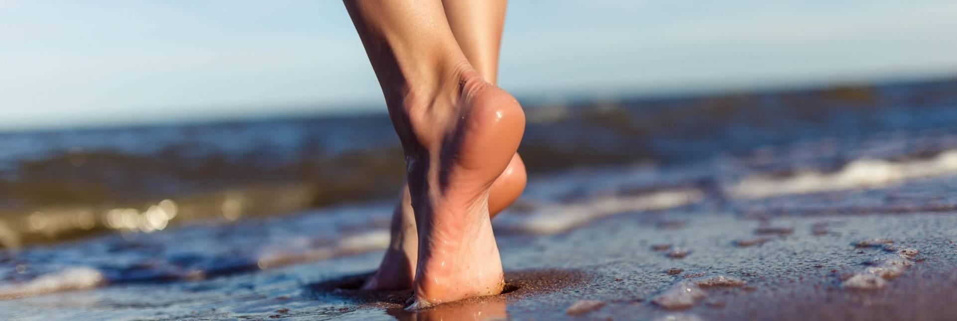 5 consejos para recuperar los pies después del verano